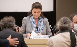 Agnes Buzyn devant les députés