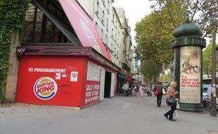 Burger King ouvre samedi  matin son restaurant au 80 avenue Général-Leclerc à Alésia.