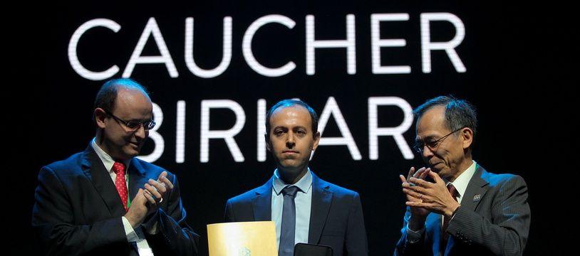 Caucher Birkar récompensé de la médaille Fields, le 1er août 2018.