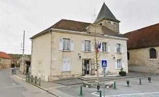 La mairie de Balagny-sur-Thérain, dans l'Oise.