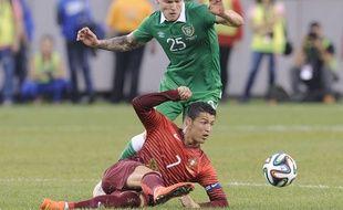 Cristiano Ronaldo, le 10 juin 2014 face à l'Irlande du Nord.