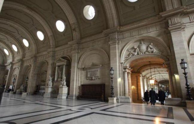 Vue du tribunal correctionnel de Paris prise le 23 février 2005