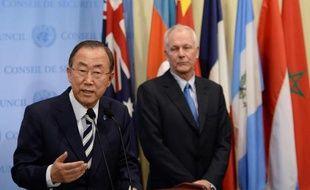 """Les inspecteurs de l'ONU spécialistes des armes chimiques doivent """"bientôt"""" retourner en Syrie enquêter sur diverses accusations à l'encontre du régime et de l'opposition."""