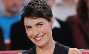 L'animatrice Alessandra Sublet sur le plateau de «Vivement dimanche» en décembre 2013.