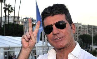Le producteur britannique Simon Cowell au marché international des contenus audiovisuels à Cannes, le 13 octobre 2014.