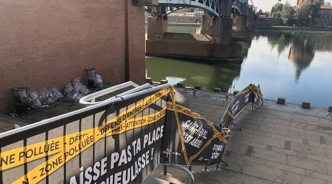 Toulouse : « Laisse pas ta place dégueulasse », l'opération coup de poing contre les fêtards crados