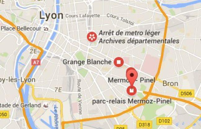 Le quartier Mermoz, dans le 8e arrondissement de Lyon.