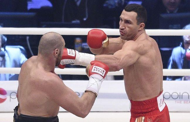 Wladimir Klitschko contre Tyson Fury en 2015
