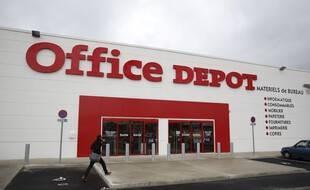 Un magasin Office Depot à Nîmes.