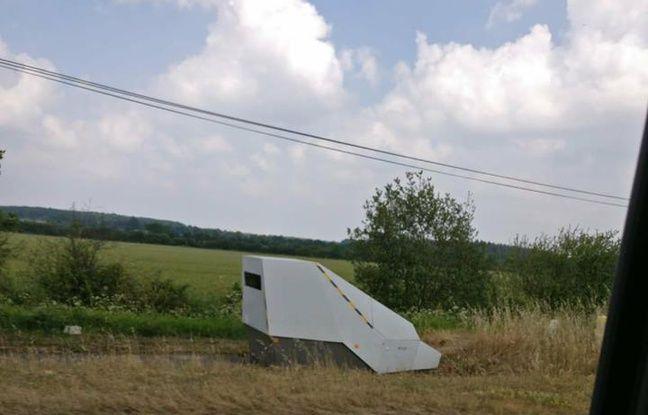 Le nouveau radar de l'axe Nantes-Pornic