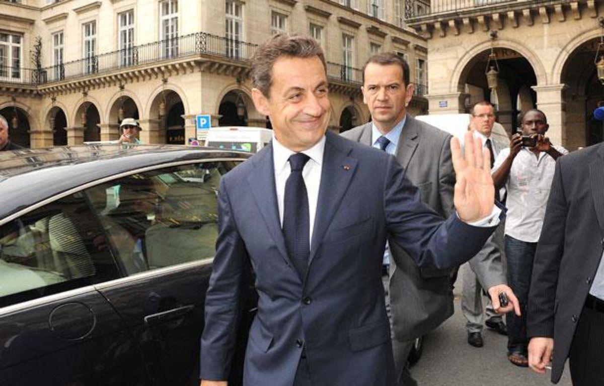 Nicolas Sarkozy à Paris, le 28 juin 2012. – CONTRE JOUR/SIPA