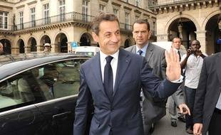 Nicolas Sarkozy à Paris, le 28 juin 2012.