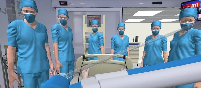 La start-up C2Care a recréé l'environnement de réveil des greffés du poumon de l'hôpital Nord de Marseille.