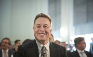 Le patron de Tesla, Elon Musk, à Berlin le 24 septembre 2015