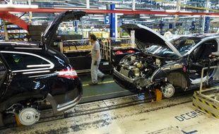 La production a été perturbée à l'usine PSA La Janais mercredi matin à l'appel de la CGT.