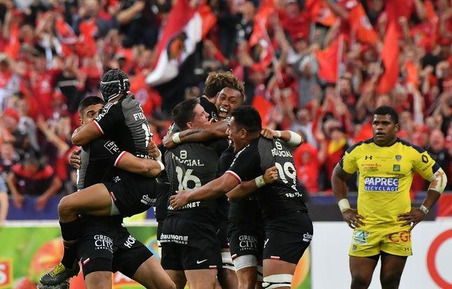 Toulouse a remporté la finale du top 14 le 15 juin 2019