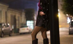 Photo d'illustration d'une prostituée, ici en 2013 à Bordeaux.