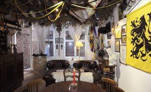 """Le club privé """"La citadelle"""", à Lille."""