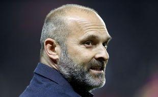 Pascal Dupraz peut sourire. Il a sans doute retrouvé un poste d'entraîneur, à Caen en Ligue 2