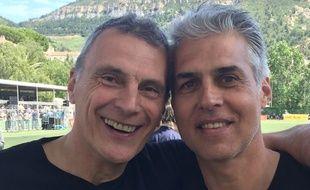 Gaëtan Huard (à droite) a été opéré en 1990 par le docteur Franceschi.