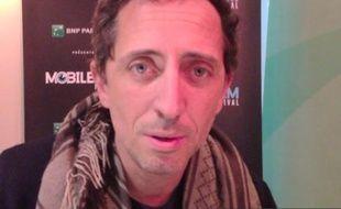 Gad Elmaleh, président du jury de la 8e édition du Mobile FilmFestival, le 12février 2013.