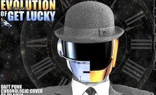 Capture d'écran de la vidéo «Evolution of Get Lucky» de PV NOVA.