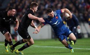 Remy Grosso a été victime d'un double placage lors du match face à la Nouvelle-Zélande