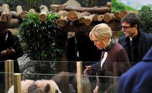 Yuan Meng, le bébé panda, a été baptisé en présence de Brigitte Macron.