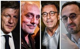 Nicolas Florian (LR), Philippe Poutou (Bordeaux en luttes, Pierre Hurmic (Bordeaux Respire) et Thomas Cazenave (LREM) vont s'affronter au second tour des municipales à Bordeaux.