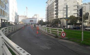 Le radar anti-pollution a été installé dans le quartier d'Euroméditerranée.