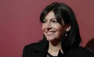 La maire de Paris Anne Hidalgo au Théâtre du Châtelet, le 26 février 2016