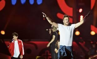 One Direction en concert aux Etats-Unis en août 2015.