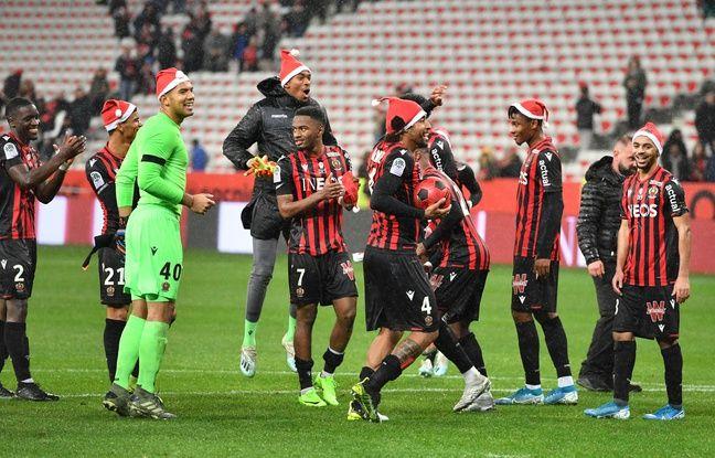 Ligue 1: Sanctionné d'une amende pour des bonnets de Père Noël, l'OGC Nice se paie la LFP
