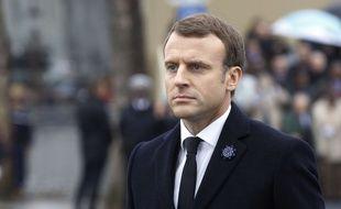 Le président français Emmanuel Macron a apporté son soutien au Liban et appelé au respect de sa souveraineté, le 11 novembre 2017.