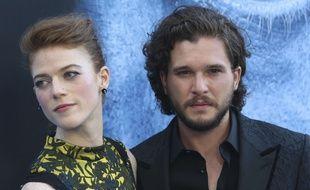Rose Leslie et Kit Harington, alias Ygritte et Jon Snow dans «Game of Thrones», se sont mariés. (Illustration)