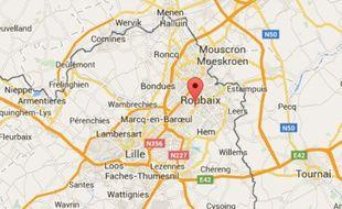 La ville de Roubaix, près de Lille, dans le Nord.