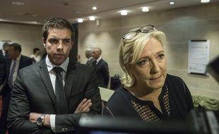 Marine Le Pen (Rassemblement national) était présente ce lundi 23 juillet à la comission d'enquête dans le cadre de l'affaire Benalla.