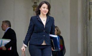 Cécile Duflot, ministre de l'Egalité des territoires et du Logement, le 6 mars 2013.