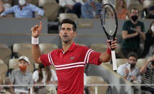 Djokovic a battu Nadal en demi-finale de Roland-Garros, le 11 juin 2021.