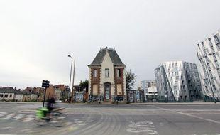 L'octroi de Châtillon, à Rennes, est une maison à l'abandon située au coeur du quartier EuroRennes. Elle sera conservée.