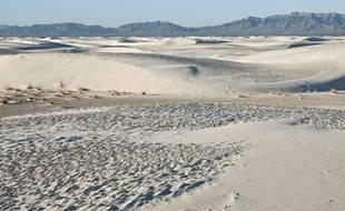 Le parc national de White Sands, au Nouveau-Mexique.