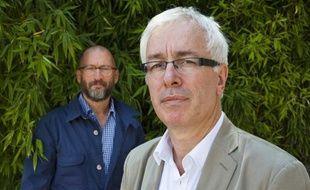 Didier Lestrade et Gilles Pialoux