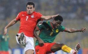 Le Cameroun, sévèrement battu par l'Egypte, n'a pas d'autre choix que de l'emporter contre la Zambie, samedi à Kumasi, pour continuer à rêver à une qualification pour les quarts de finale de la CAN-2008, que devrait valider les Egyptiens opposés au Soudan, équipe la plus faible du groupe C.
