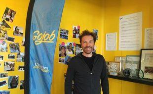 Pascal Lorne, fondateur de GoJob et président de Aix-Marseille FrenchTech