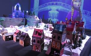 Mini World accueille jusqu'au 18 avril, une exposition consacrée aux Playmobil, à travers six films. Ici la Reine des neiges