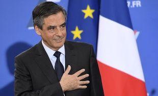 """""""Croix de bois, croix de fer, si je mens je vais en enfer..."""" François Fillon le 27 novembre 2016 à Paris."""
