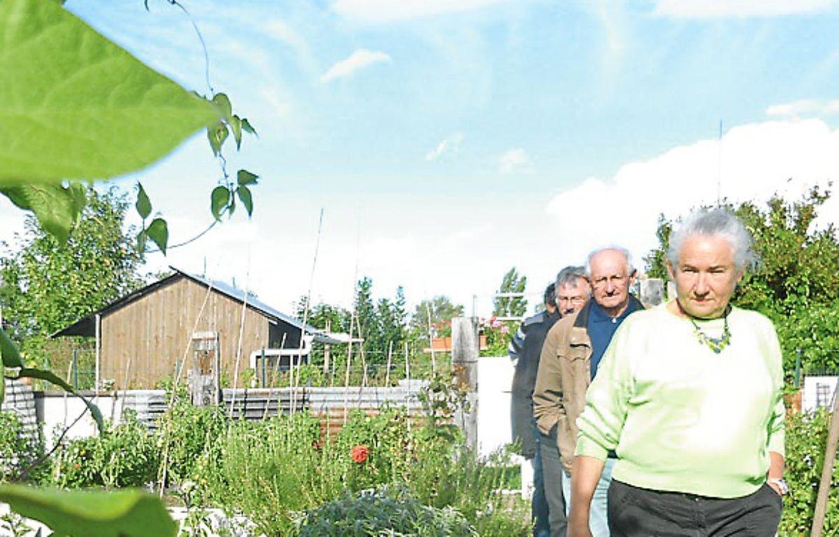 Les jardiniers seront expulsés. – C. Allain / APEI / 20 Minutes
