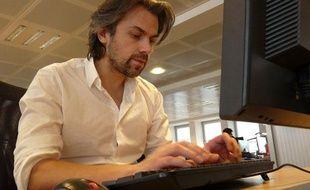 Aymeric Caron à la rédaction de 20 Minutes