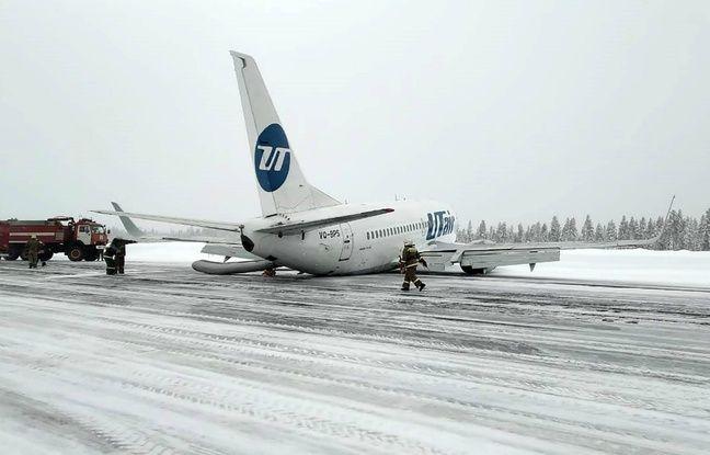 VIDEO. Russie: Un Boeing atterrit en urgence sur le ventre, sans faire de blessé