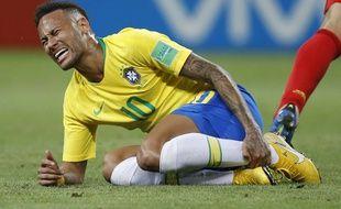 Neymar ou l'éternel blessé des stades.
